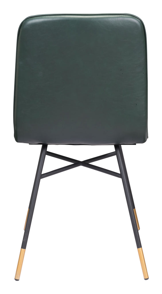 Var Dining Chair (Set of 2) Green