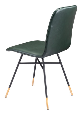 Image of Var Dining Chair (Set of 2) Green