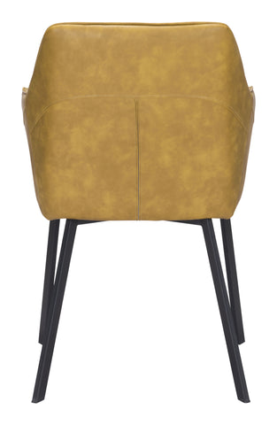 Image of Loiret Dining Chair (Set of 2) Yellow