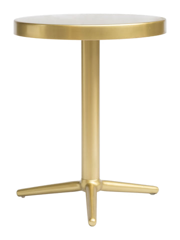 Image of Derby Accent Table Brass