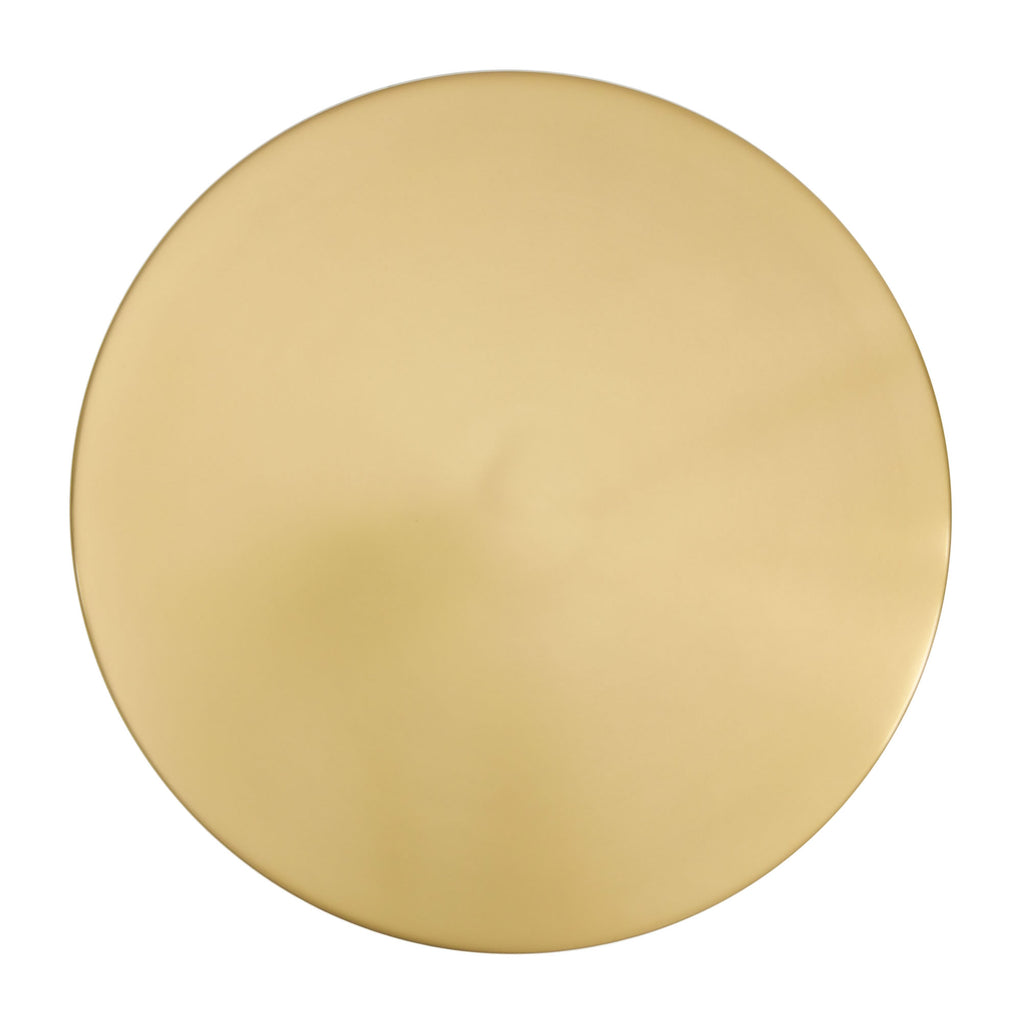 Derby Accent Table Brass