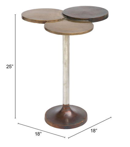 Image of Dundee Accent Table Multicolor