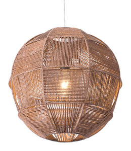 Florence Ceiling Lamp Brown