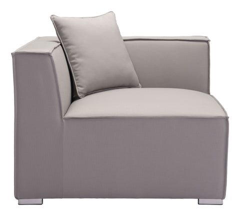 Image of Fiji Corner Chair Gray