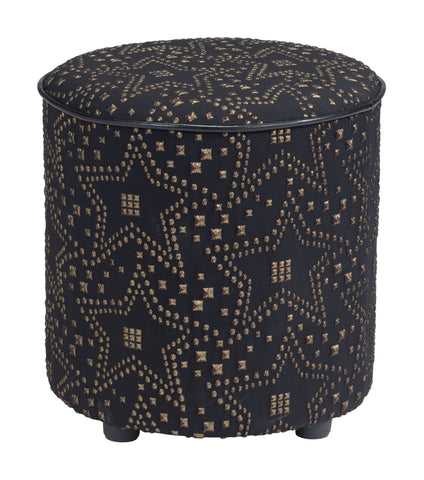 Constellation Ottoman Gold & Black