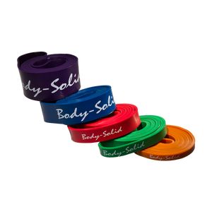 Body Solid Power Bands (Very Light - Very Heavy Strength)