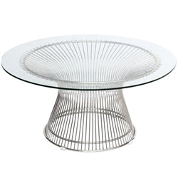 Image of WIRE SIDE COFFEE TABLE