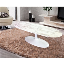 Image of SQUAVAL MARBLE COFFEE TABLE