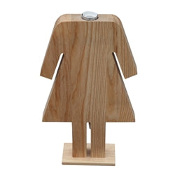 Image of PERSON TABLE LAMP FEMALE