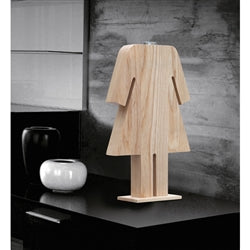 PERSON TABLE LAMP FEMALE