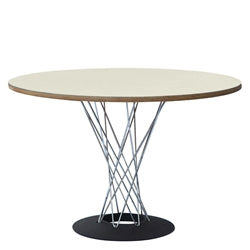 Image of WIRE DINING TABLE 42""