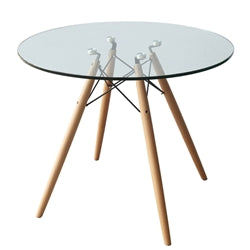 Image of WOODLEG DINING TABLE 36""
