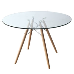 Image of WOODLEG DINING TABLE 42""