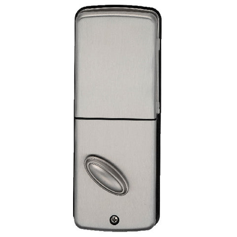 Electronic Keyless Deadbolt W/Remote - Satin Nickel
