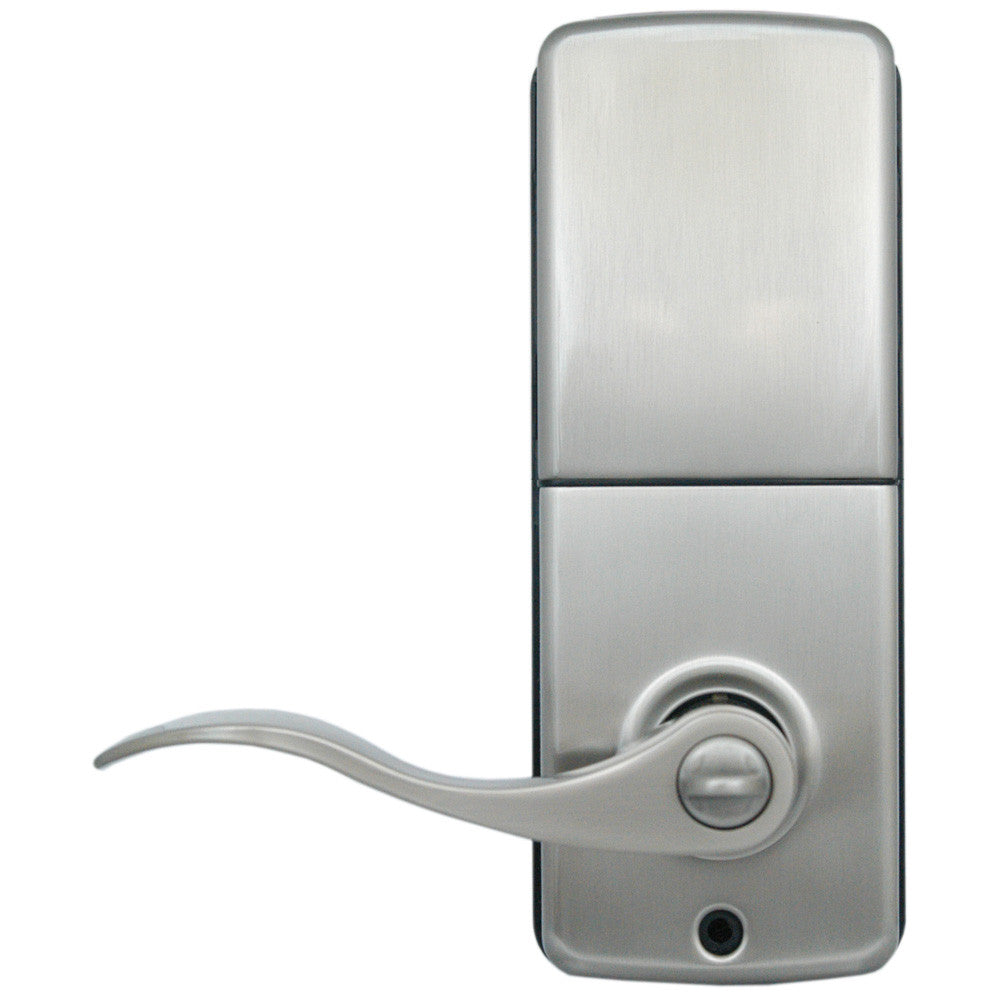 RemoteLock WiFi Electronic Lever Door Lock - Satin Nickel ...