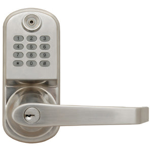 ResortLock RL2000 Electronic Door Lock - Silver