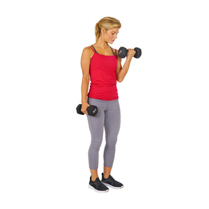 Sunny Health & Fitness Neoprene Dumbbell – Pair