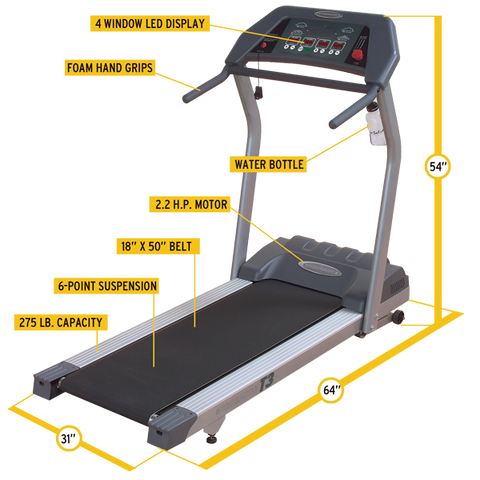 Image of Endurance T3i Treadmill