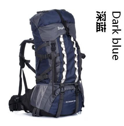 Image of High quality Large Capacity 100L Mountaineering Sports Travel Bags Outdoor Sports Camping Hiking Climbing man rucksack backpack