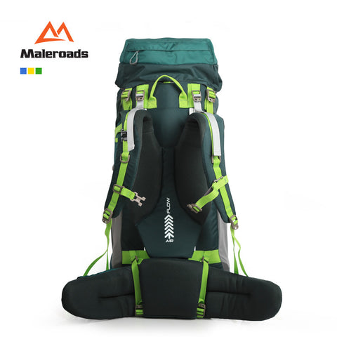 Image of Maleroads 70L Professional Climb backpack,Hike Gear, Trekking Rucksack