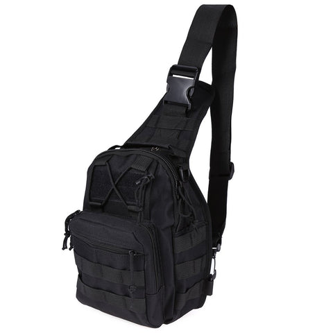 Image of Durable Mens Outdoor Sport Army Chest Bag Trekking Tactical Sports Bag Military Camouflage Backpack Camping Hiking Bags