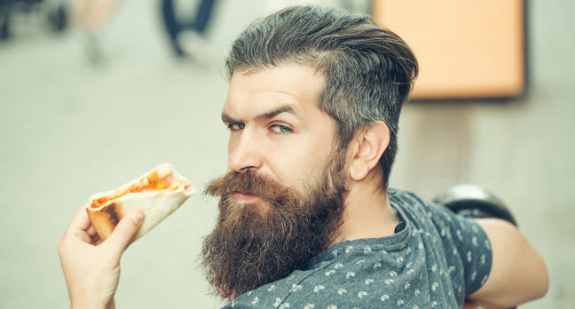 How To Eat With A Mustache And Beard.