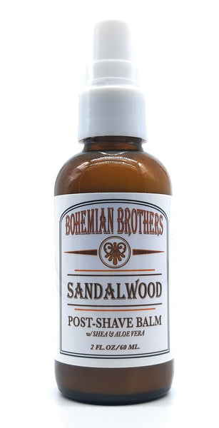 SANDALWOOD POST SHAVE BALM