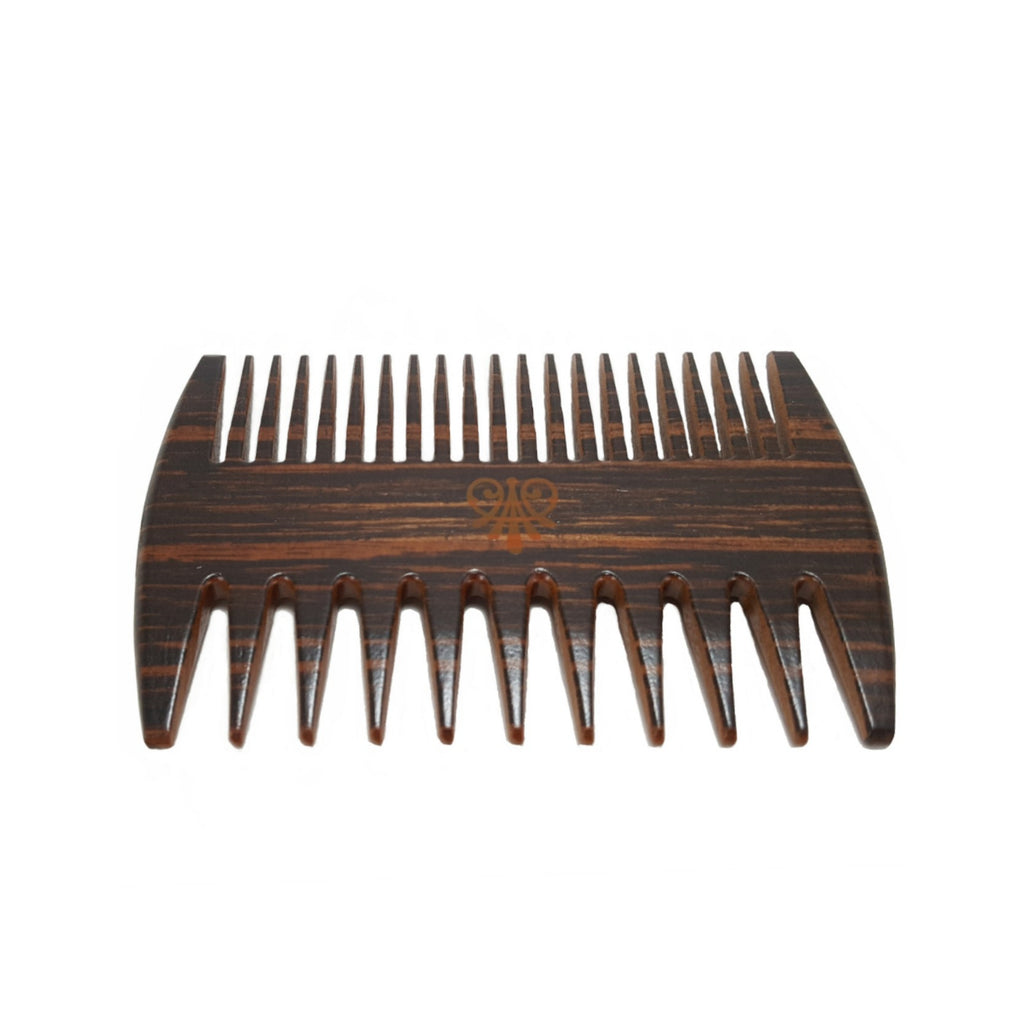 2 IN 1 WOODEN BEARD COMB-Bohemian Brothers Beard, LLC