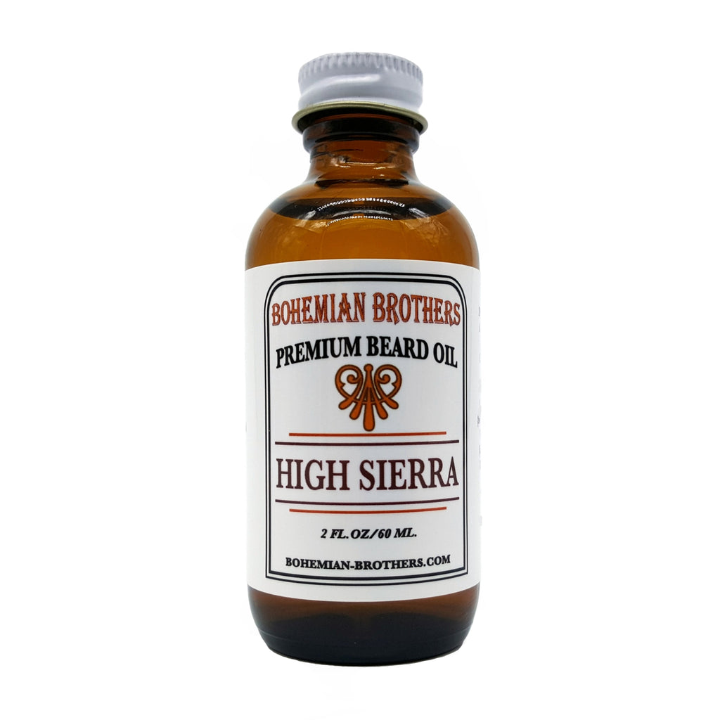 HIGH SIERRA BEARD OIL-Bohemian Brothers Beard, LLC