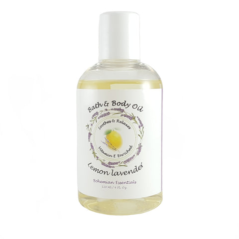 BOHEMIAN ESSENTIALS BATH & BODY OIL-Bohemian Brothers Beard, LLC