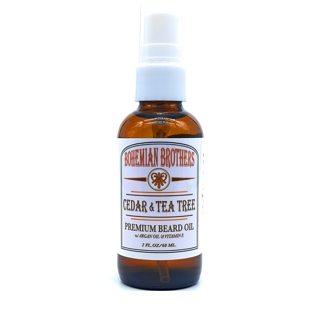 CEDAR & TEA TREE BEARD OIL
