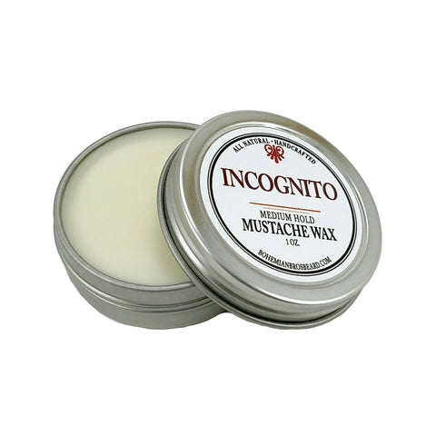 Premium Men's Grooming Products. INCOGNITO MUSTACHE WAX - Bohemian Brothers