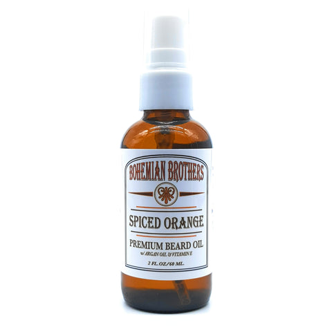 SPICED ORANGE BEARD OIL