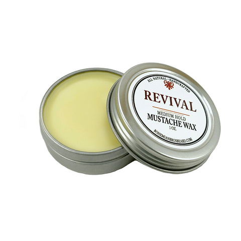 Premium Men's Grooming Products. REVIVAL MUSTACHE WAX - Bohemian Brothers