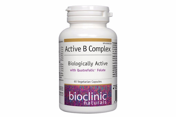 Active B Complex is a methylated form of Folate and Folic acid which are important for fetal development.  MTHFR friendly version of folate.