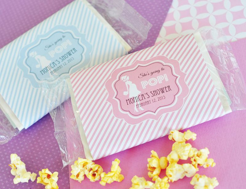 Ready To Pop Popcorn Bags Baby Shower Favors Baby Favy