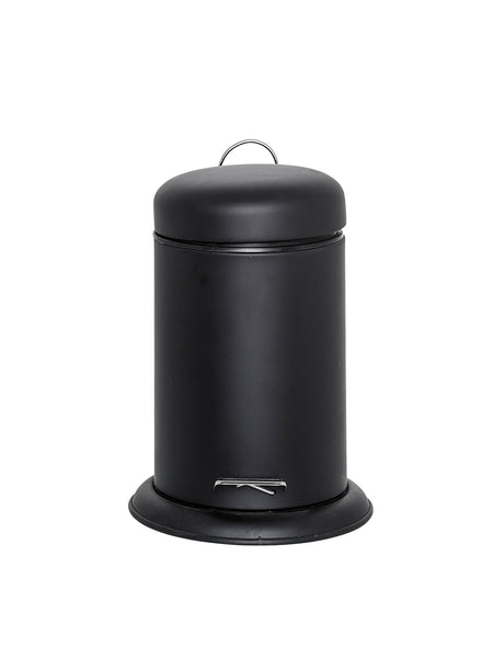 Cool Black Dustbin, Metal #27163931