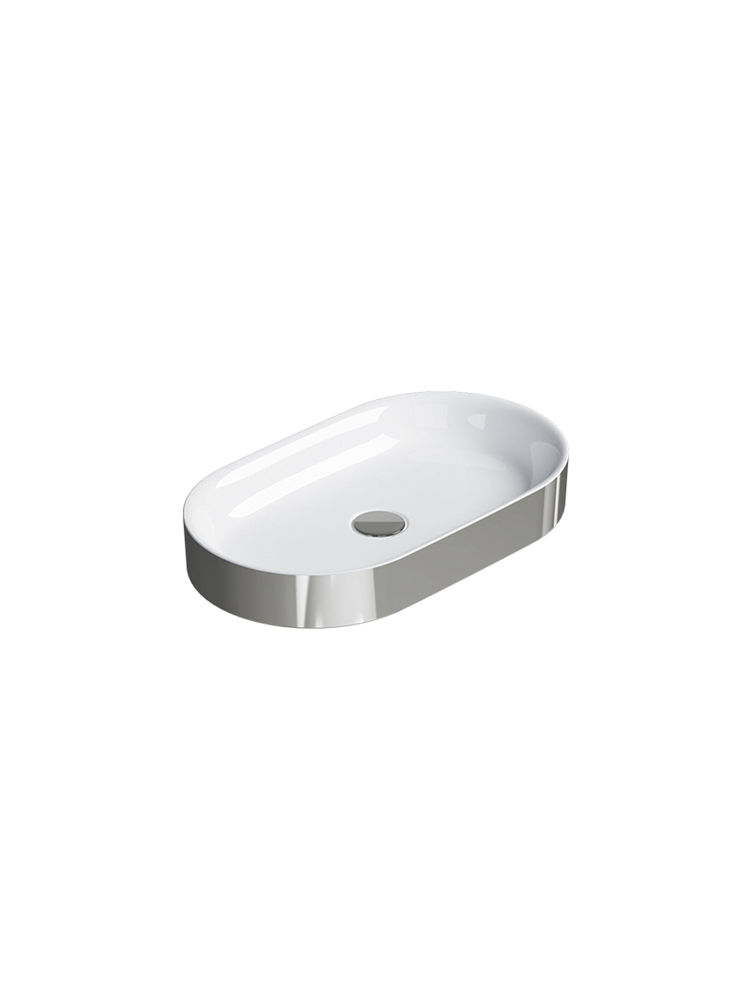 Horizon Countertop Basin #60AHZ – Gold & Silver