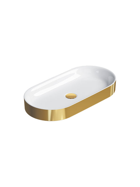 Horizon Countertop Basin #70AHZ Gold & Silver