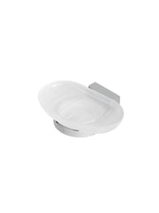 Bloq Soap Holder w/ Glass Tray #7003