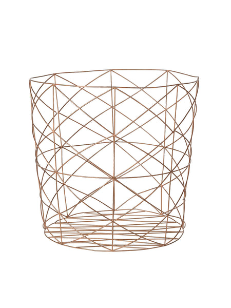 Copper Storage Basket #55000075