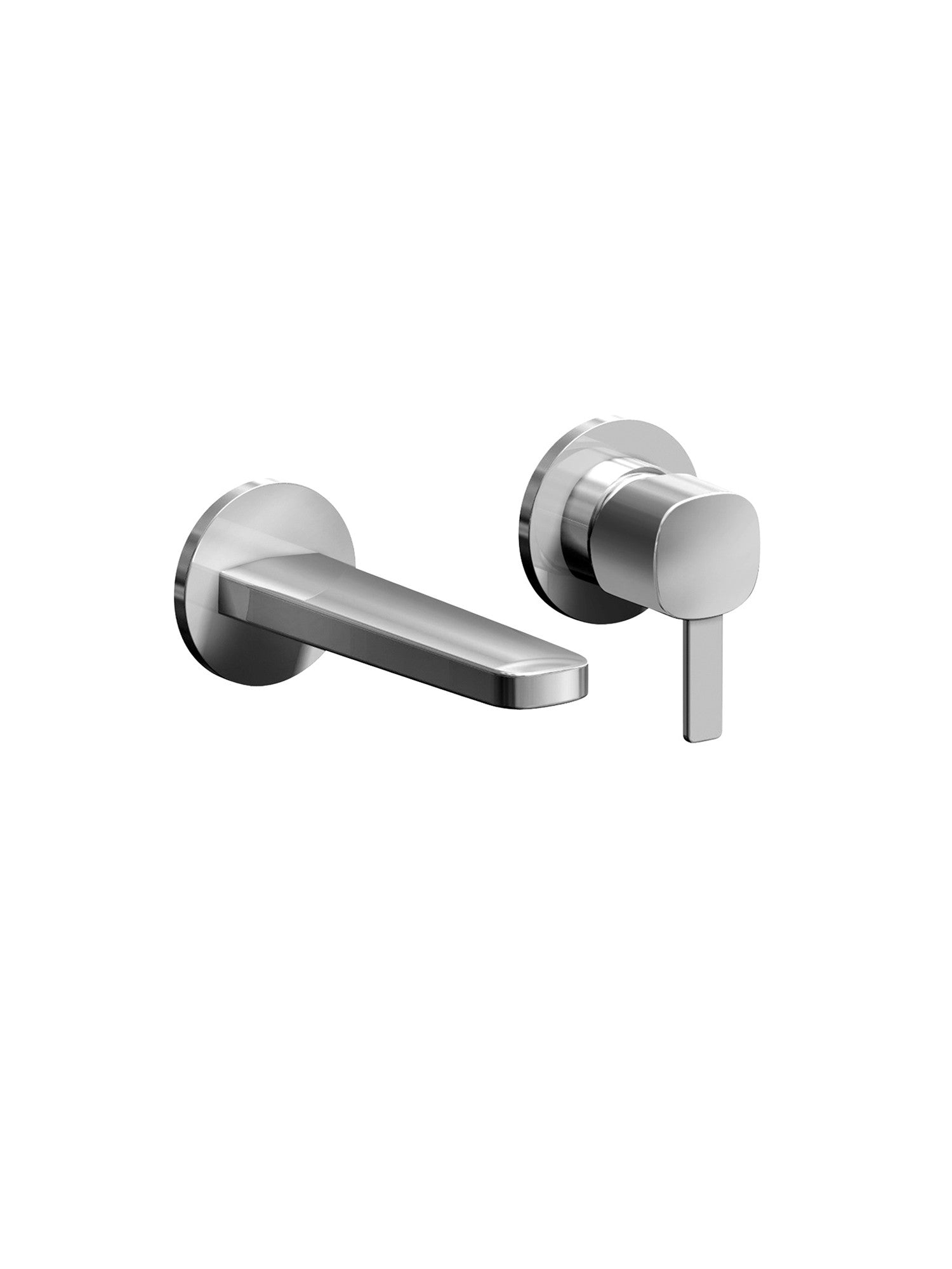 Lamé Wall-Mounted Basin Mixer 150mm Spout #GPM109B