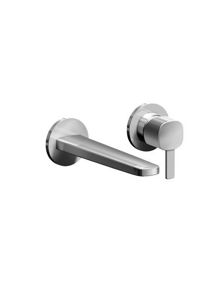 Lamé Wall-Mounted Basin Mixer 190mm Spout #GPM111B