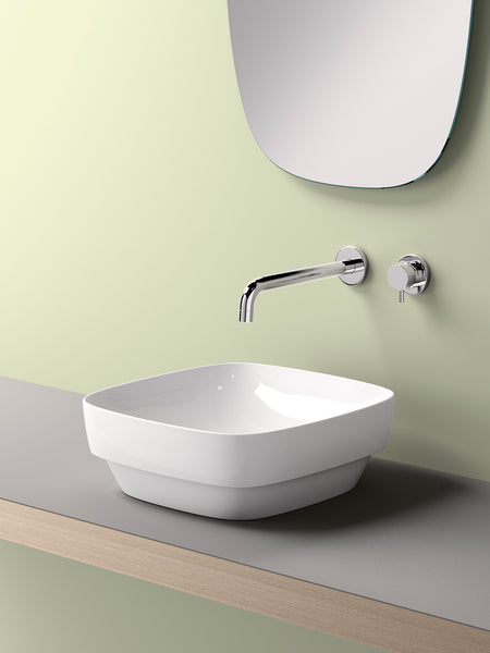 Green Square Countertop Basin #40AGRLX
