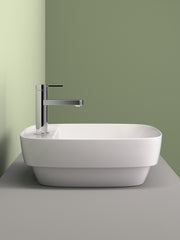 Green Square Countertop Basin #42GRLXN