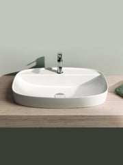 Green Rectangular Countertop Basin #60GRLXN
