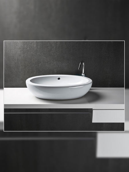 Panorama Ellipse 70 Countertop Basin #664111