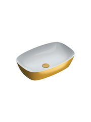 Gold & Silver Green Lux 60 Countertop Basin