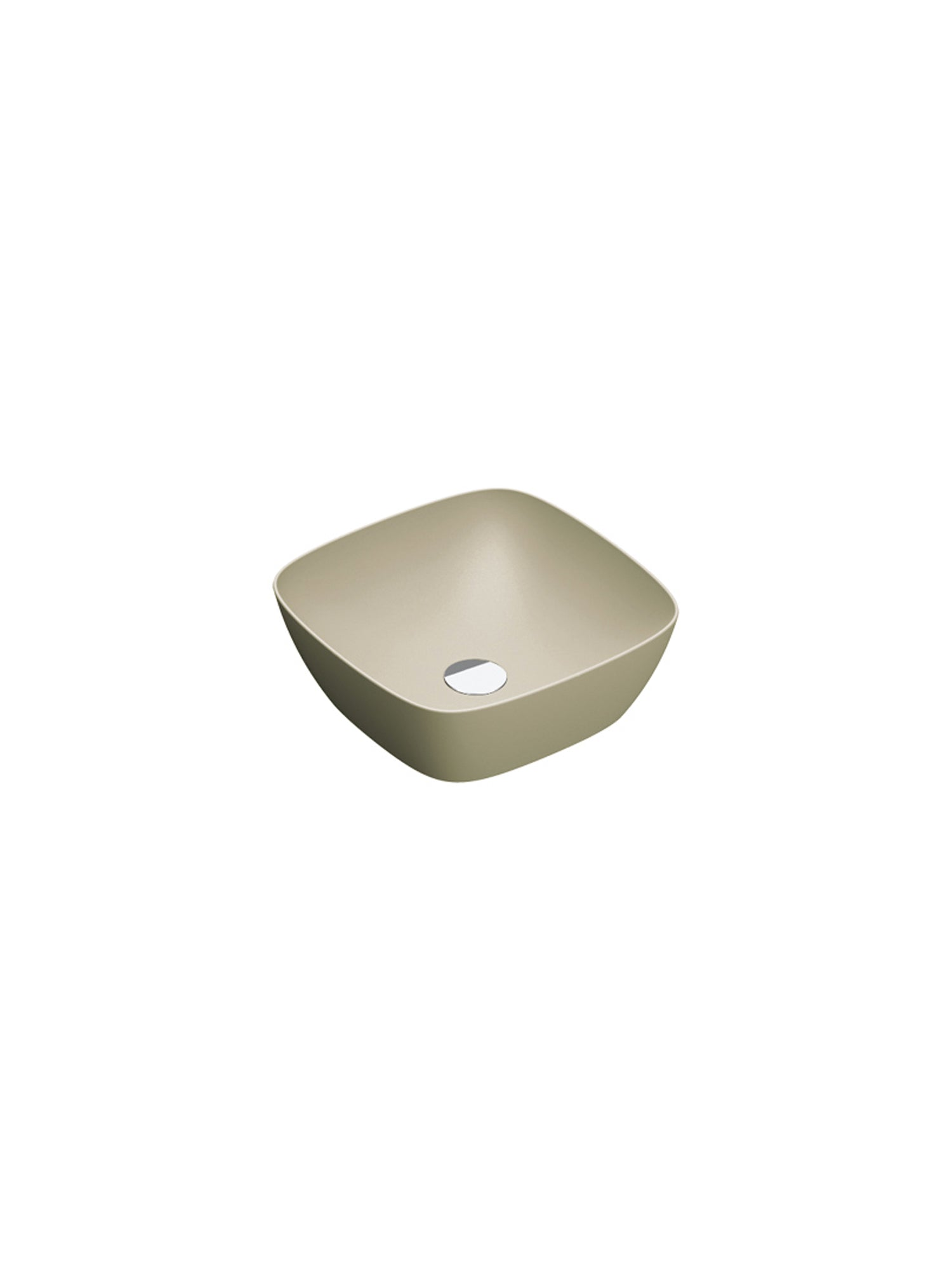 Green Lux Colori Countertop Basin 400X400 (Avail. in 7 Colour Tones)
