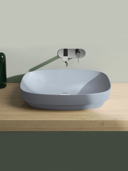 Green Lux Colori Cement Matt Countertop Basin #65AGRLXCS